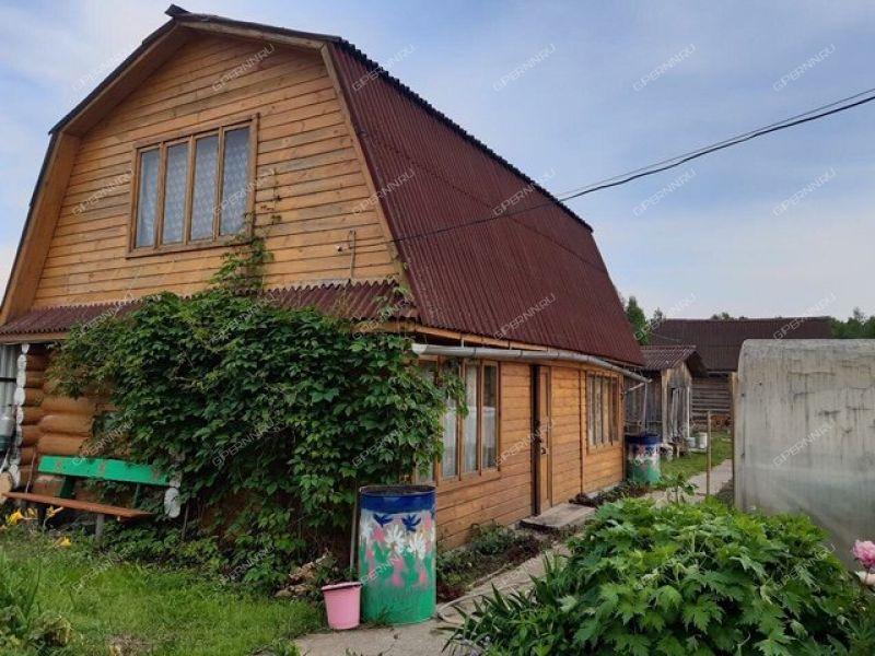 дом на улице Заречная посёлок Верхний Красный Яр