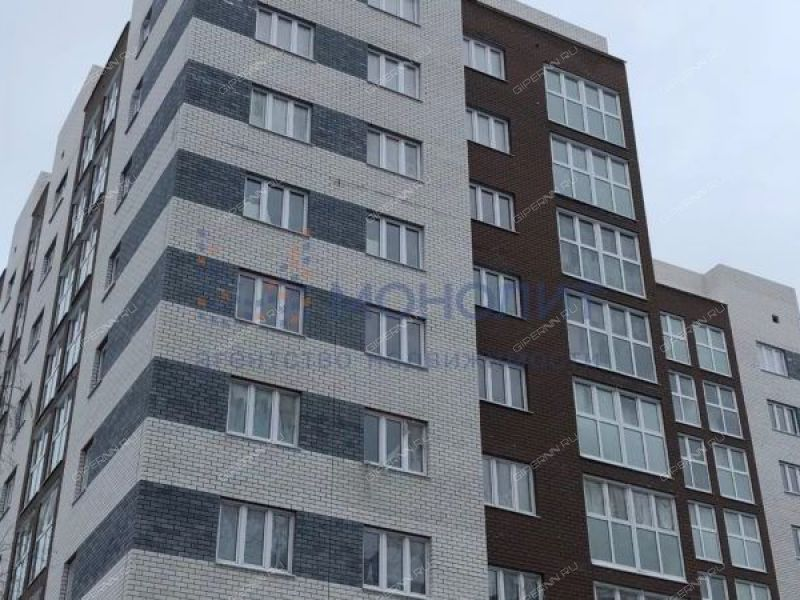 однокомнатная квартира на улице Василия Иванова дом 23а