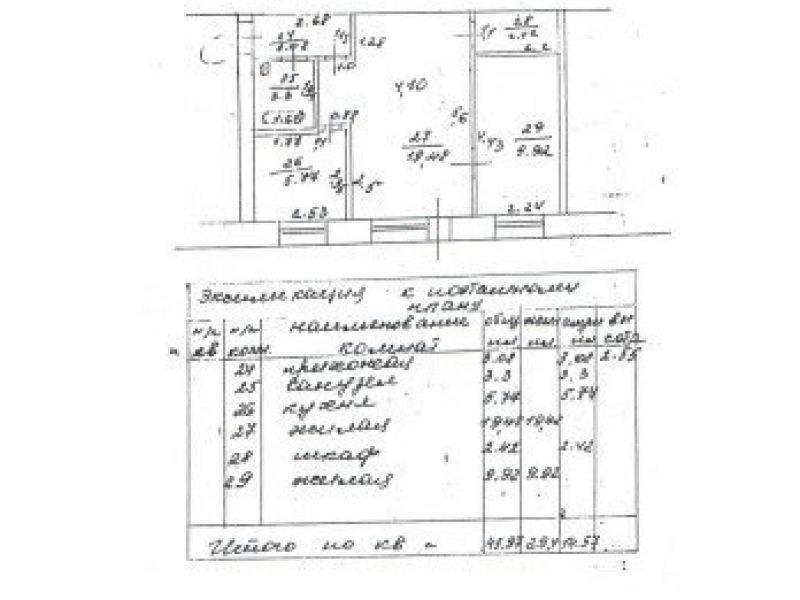 двухкомнатная квартира в переулке Чапаева дом 9 город Павлово