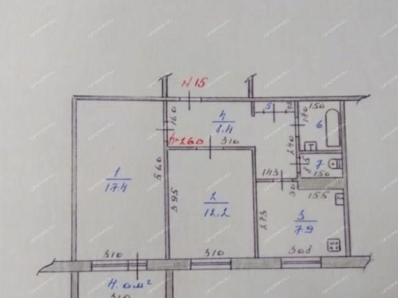 двухкомнатная квартира на микрорайон Мотмос дом 10 город Выкса
