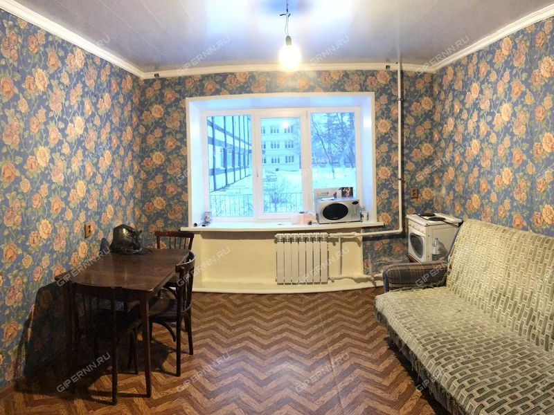 двухкомнатная квартира на улице Ивана Романова дом 1 город Выкса